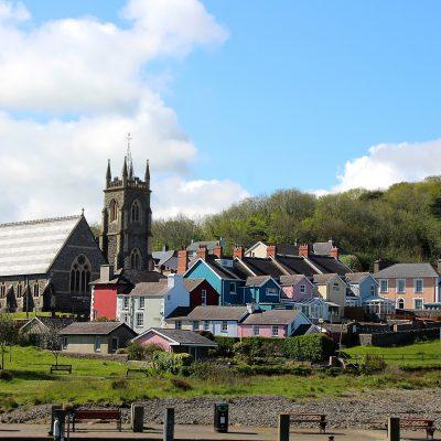 Aberaeron Wales